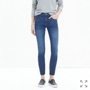 """9"""" high-rise skinny crop jeans in bayview"""